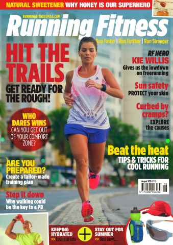 Running Fitness issue No. 179 Hit The Trails