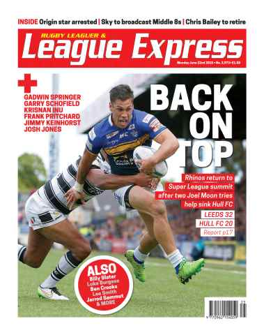 League Express issue 2972