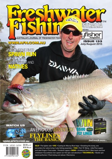 Freshwater fishing australia magazine freshwater fishing for Fishing magazine subscription