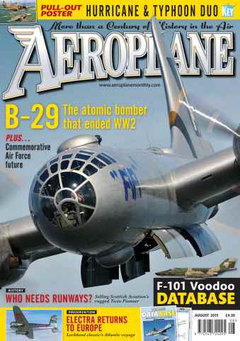 Aeroplane issue August 2015