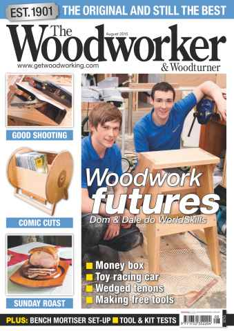 The Woodworker Magazine issue August 2015