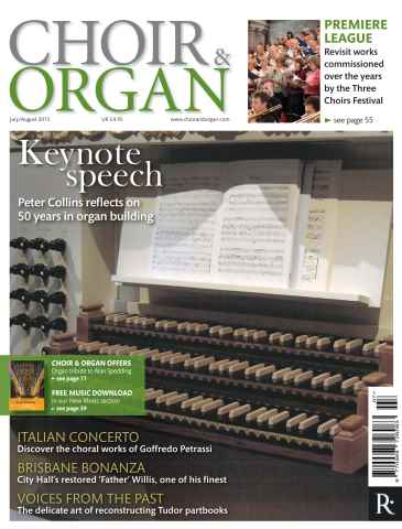 Choir & Organ issue July - Aug 2015