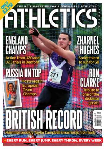 Athletics Weekly issue 25 June 2015