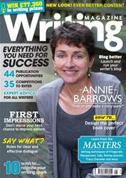 Writing Magazine issue August 2015