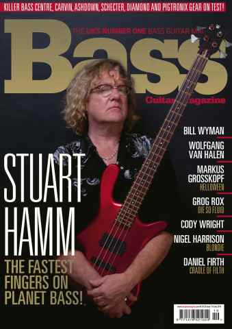 Bass Guitar issue July 2015