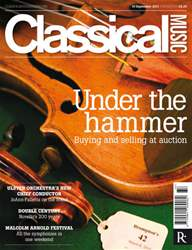 Classical Music issue 10th September 2011