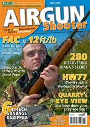 Airgun Shooter issue July 2010