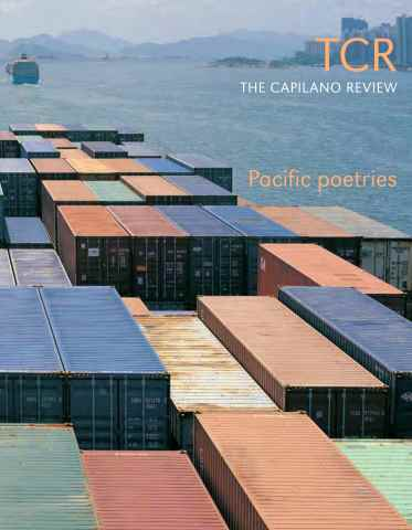 The Capilano Review issue Issue 3.26 Pacific Poetries