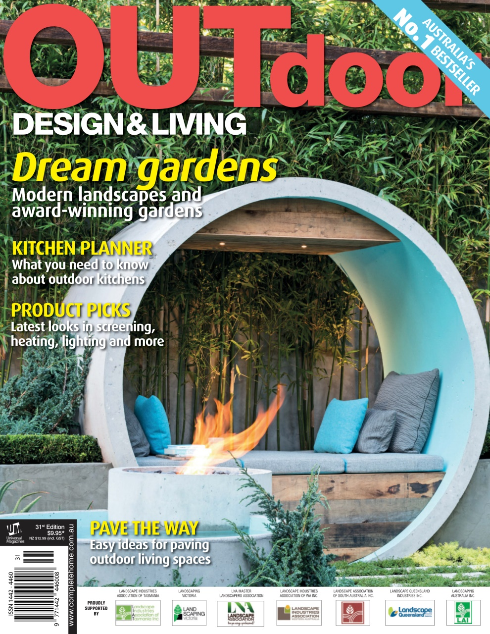 Outdoor design living magazine issue 31 2015 for Outdoor living magazine