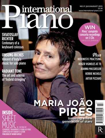 International Piano issue July - Aug 2015