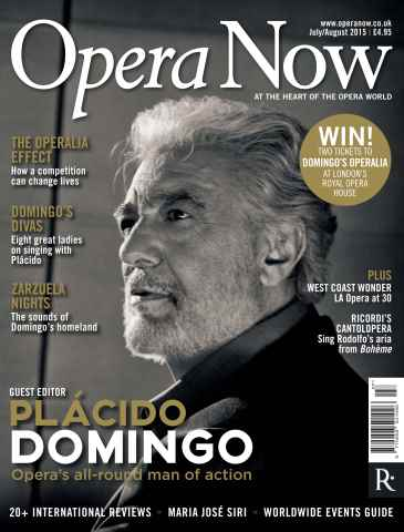 Opera Now issue July - Aug 2015