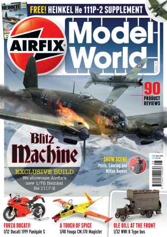Airfix Model World issue August 2015