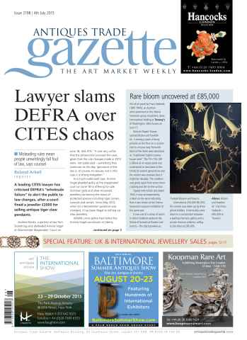 Antiques Trade Gazette issue 2198