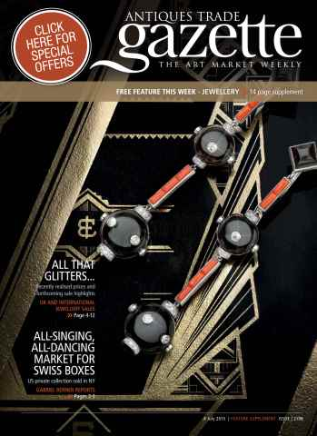 Antiques Trade Gazette issue ATG JEWELLERY FEATURE