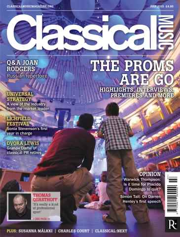 Classical Music issue July 2015