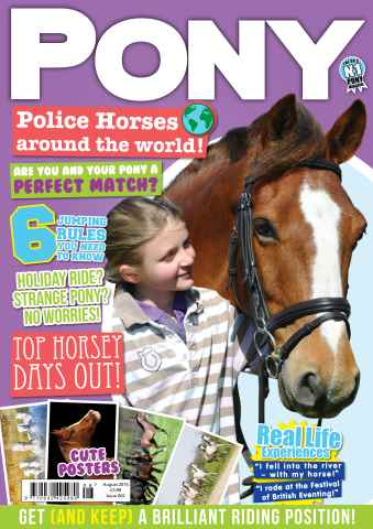 Pony Magazine issue PONY Magazine – August 2015