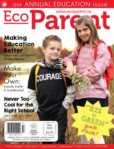Ecoparent Magazine issue THE EDUCATION ISSUE
