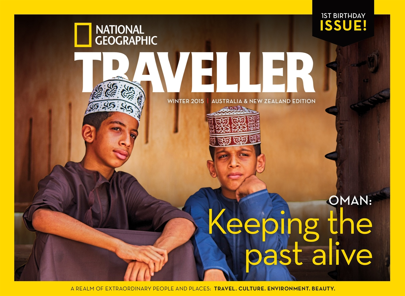 National Geographic Traveller Australia and New Zealand issue Winter 2015