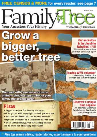 Family Tree issue Family Tree August 2015