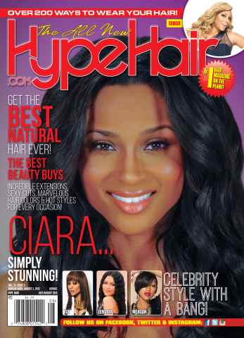 Hype Hair issue July/August 2015