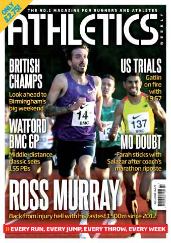 Athletics Weekly issue 02 July 2015