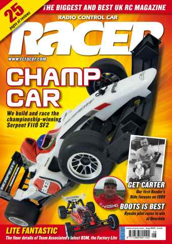 Radio Control Car Racer issue Aug 15