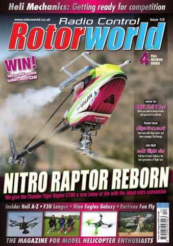 Radio Control Rotor World issue Aug 112