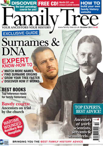 Family Tree issue October 2011
