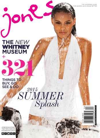 Jones Magazine issue Summer 2015