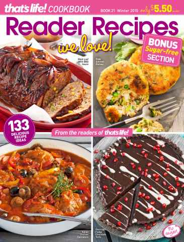 that's life! Reader Recipes issue Book 21
