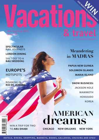 Vacations & Travel issue Jul-Aug-Sep 2015