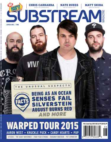 Substream Magazine issue Issue 46 Warped Tour Special Edition Issue