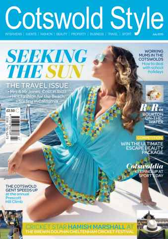 Cotswold Style issue Cotswold Style July 2015