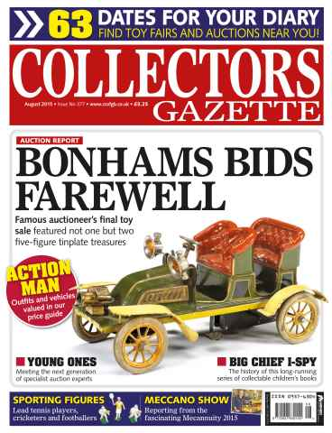 Collectors Gazette issue August 2015