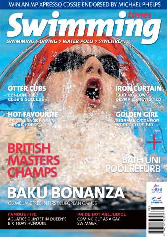 Swimming Times issue August 15