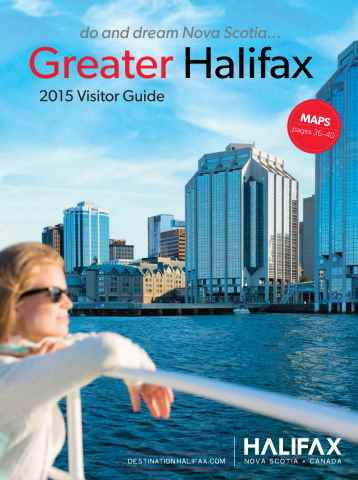 Greater Halifax Visitor Guide issue 2015 Visitor Guide