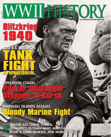 WW2 History Magazine issue August 2015