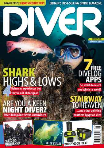 DIVER issue AUGUST 2015