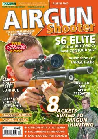 Airgun Shooter issue August 2015