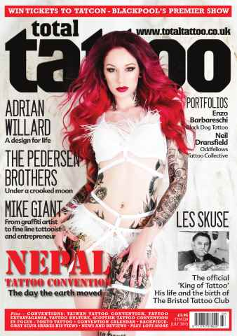 Total Tattoo issue Sexy or Sexist July 2015