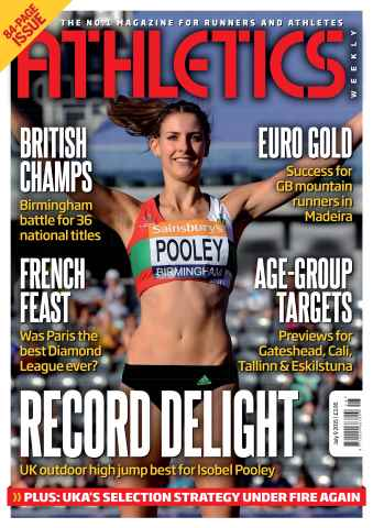 Athletics Weekly issue 09 July 2015