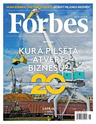 Forbes Jūnijs '15 issue Forbes Jūnijs '15