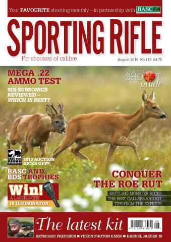 Sporting Rifle issue August 2015