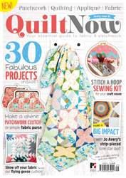 Quilt Now Sampler issue Quilt Now Sampler