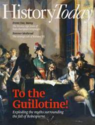 History Today issue August 2015