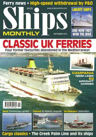Ships Monthly issue No. 609 Classic UK Ferries