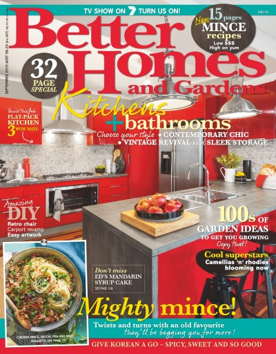 better homes and gardens australia magazine september 2015 - Better Homes And Gardens Digital