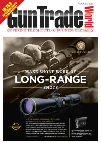 Gun Trade World issue August 2015