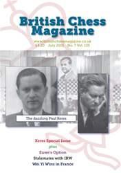 British Chess Magazine issue July 2015
