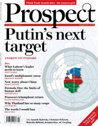 Prospect Magazine issue Putin's Next Target